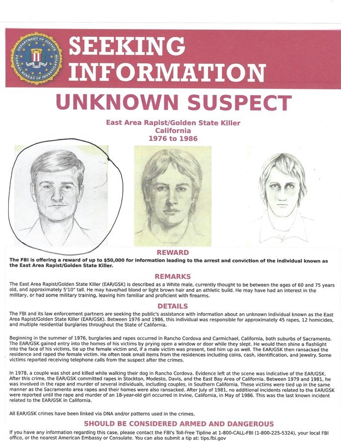 Golden State Killer Has Been Identified News Weather