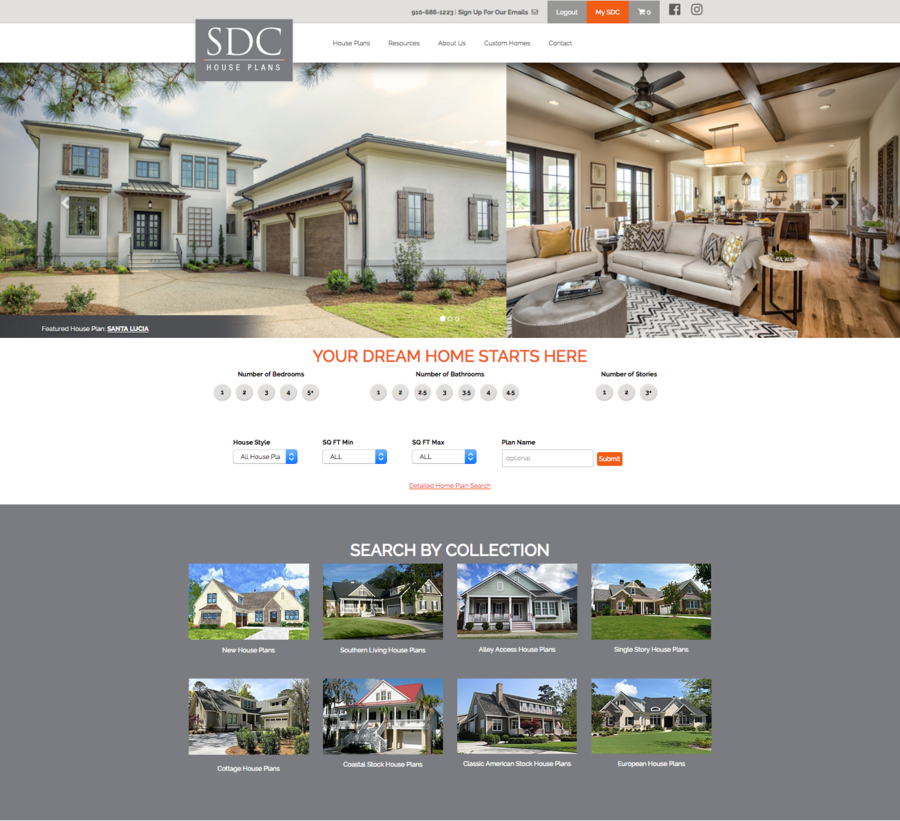 Launch Of U0027SDC House Plansu0027 Gives Consumers Power To Search For And Buy House  Plans Online