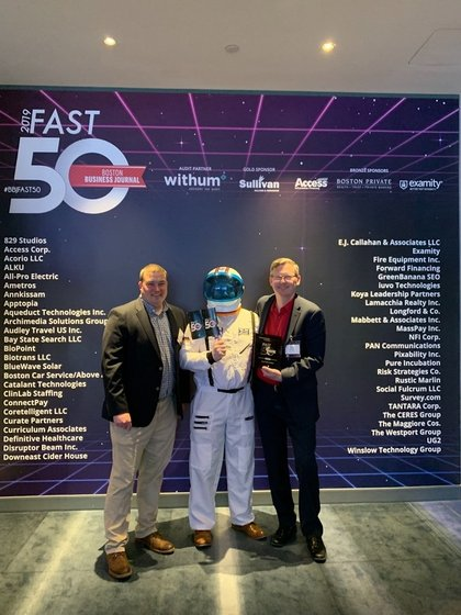 Iuvo Technologies Named One of Boston Business Journal's 2019 50