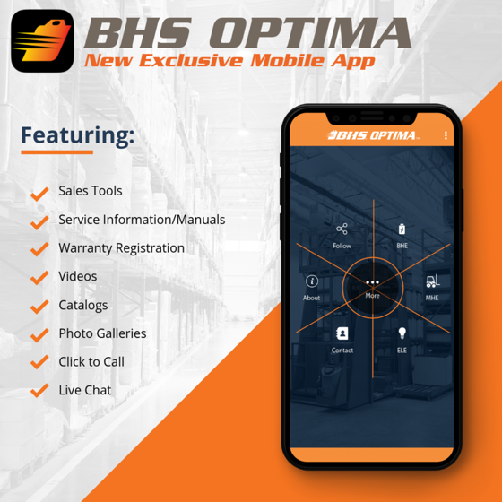 BHS, Inc  Releases Exclusive Mobile App for Dealers and End-User