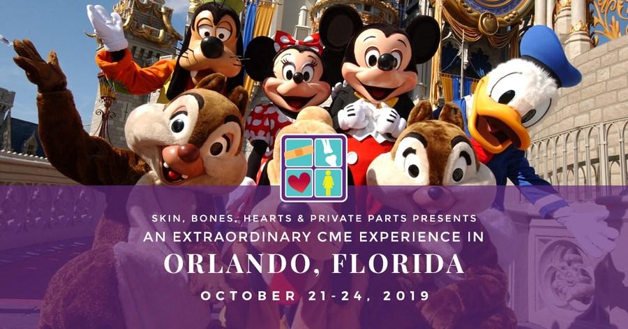 Skin, Bones, Hearts & Private Parts Hosts Orlando, Florida CME C