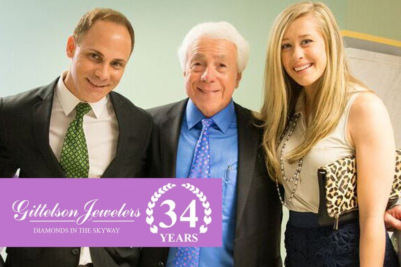 Gittelson Jewelers Celebrates Their 34th Anniversary In The